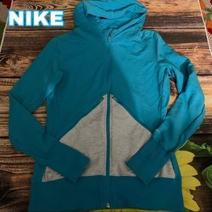 Nike size M Medium hoodie zip up top jacket